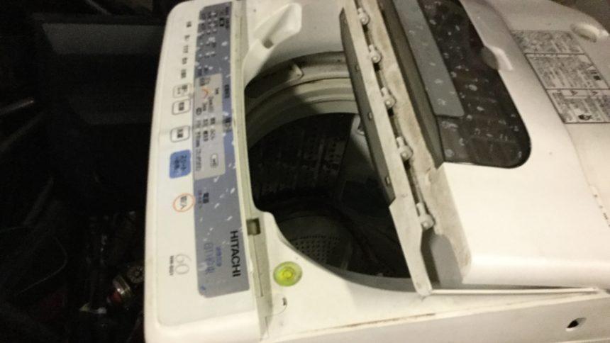 姫路市野里付近で回収した洗濯機です。