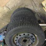 姫路市で不用品回収したタイヤ