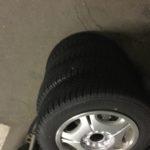姫路市で不用品回収したアルミタイヤ
