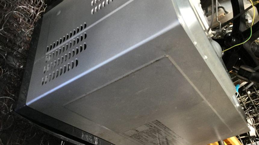 姫路市広畑で不用品回収・処分した電子レンジ