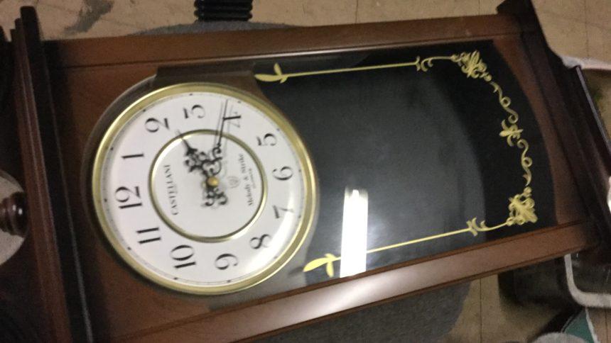 姫路市で不用品回収した置き時計