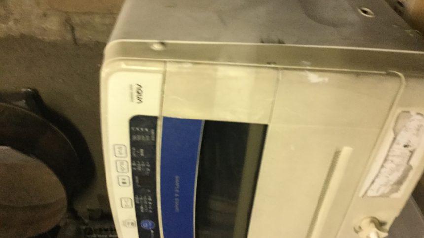 姫路市で粗大ゴミの回収・処分した洗濯機