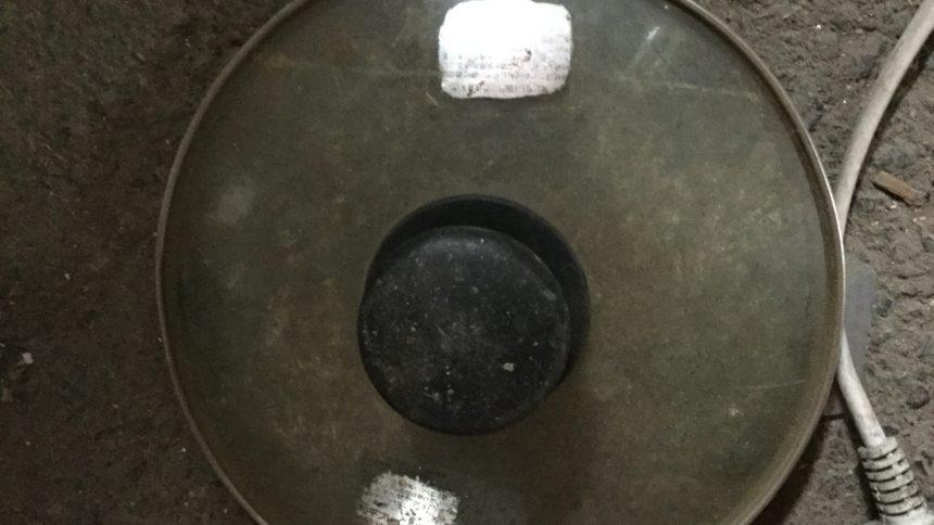 鍋の蓋です。