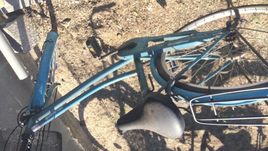 自転車①です。