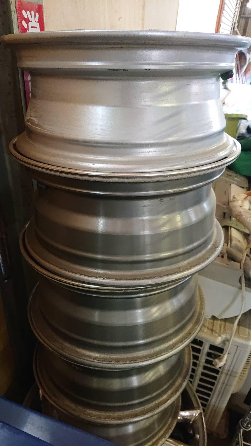 姫路市で不用品回収したアルミホイール