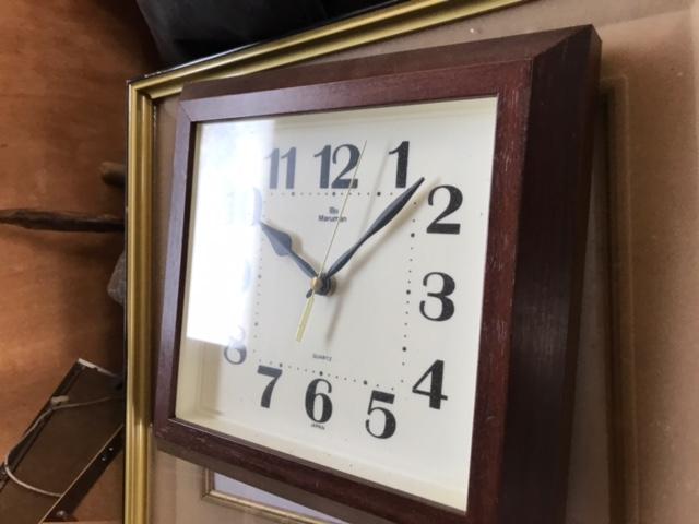 姫路市で不用品回収した時計です。