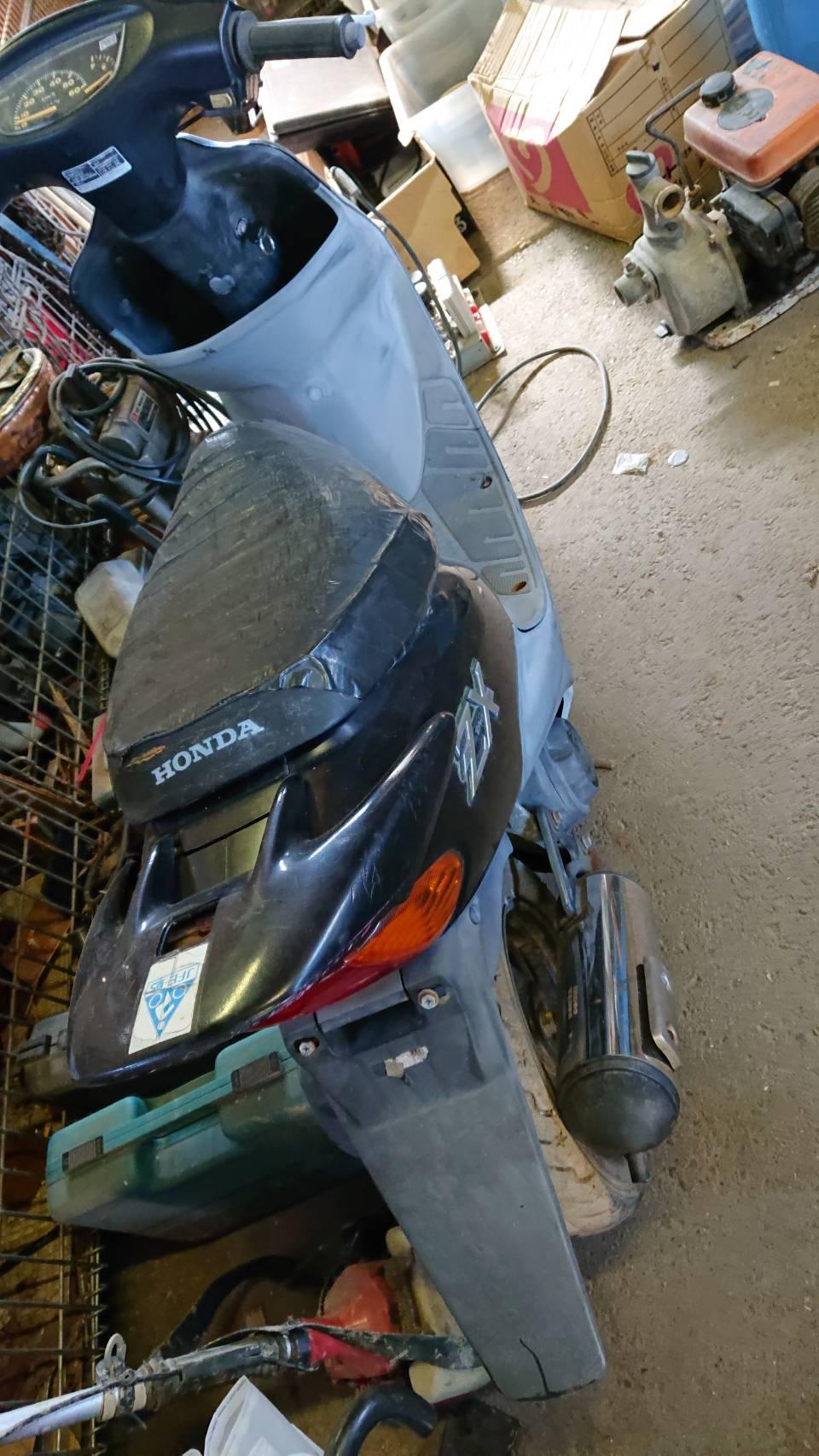 姫路市で不用品回収したバイクです。