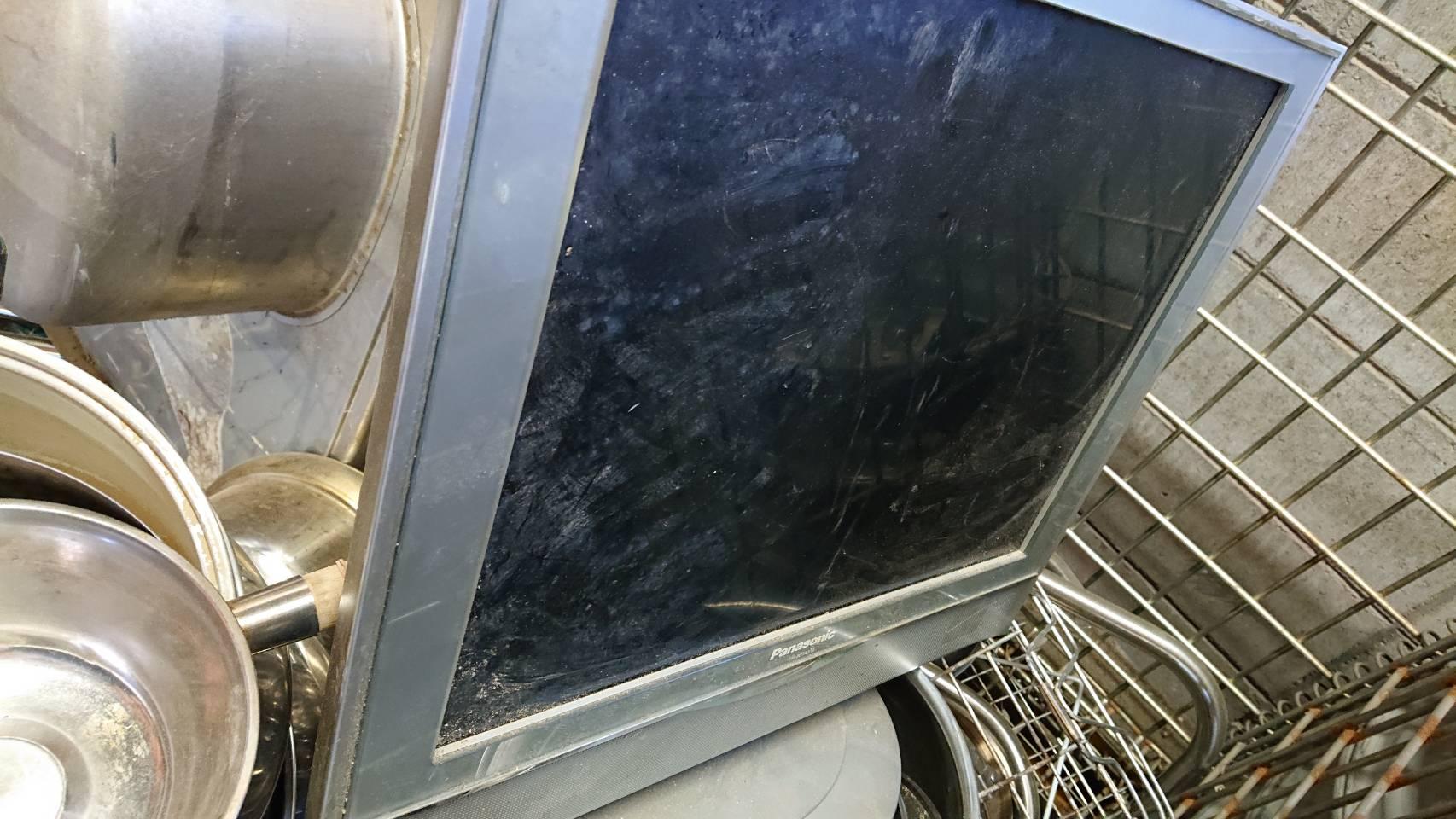 姫路市で不用品回収した液晶テレビ