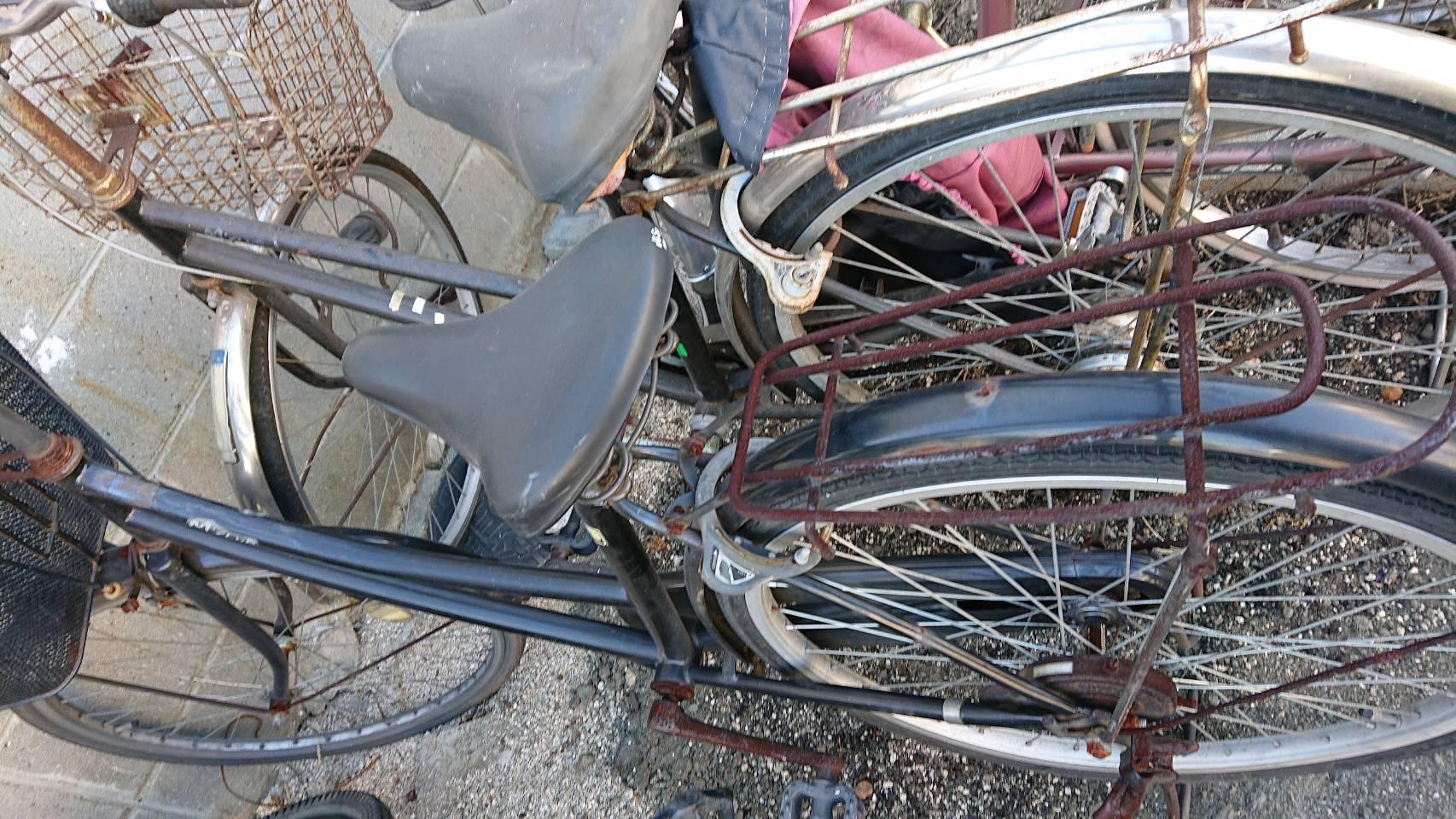 姫路市で不用品回収した自転車です。