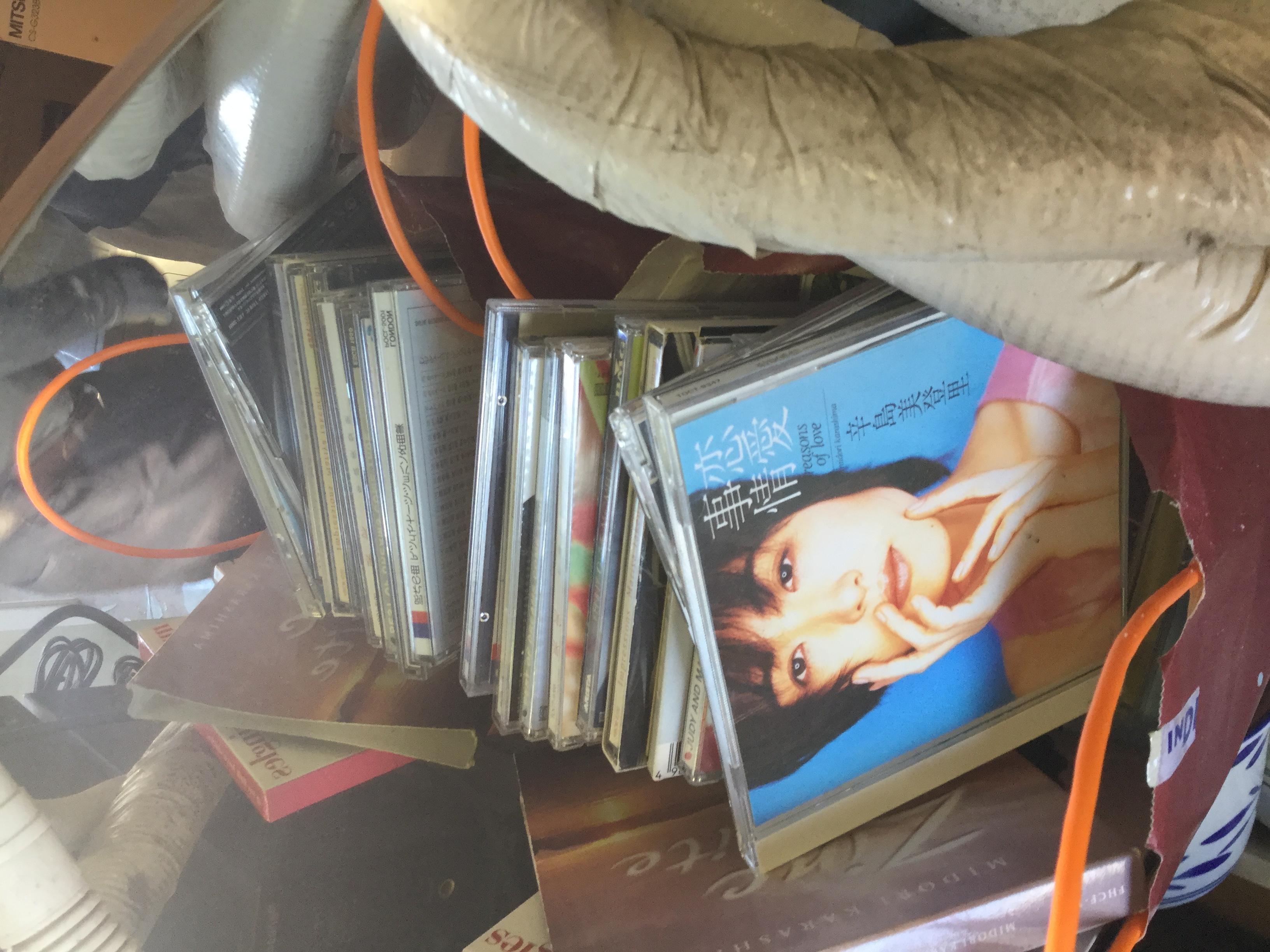 兵庫県姫路市福沢町付近で回収した不用品のCD