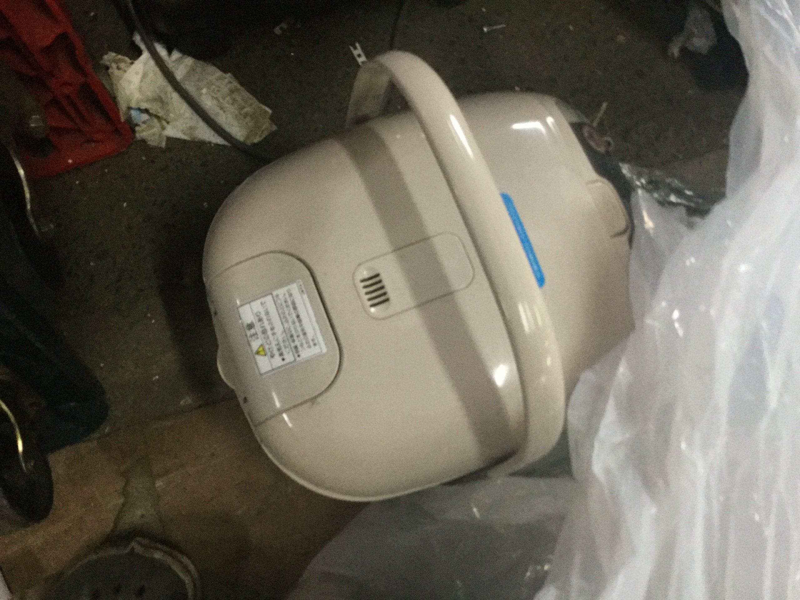 姫路市飾磨区で回収した炊飯器
